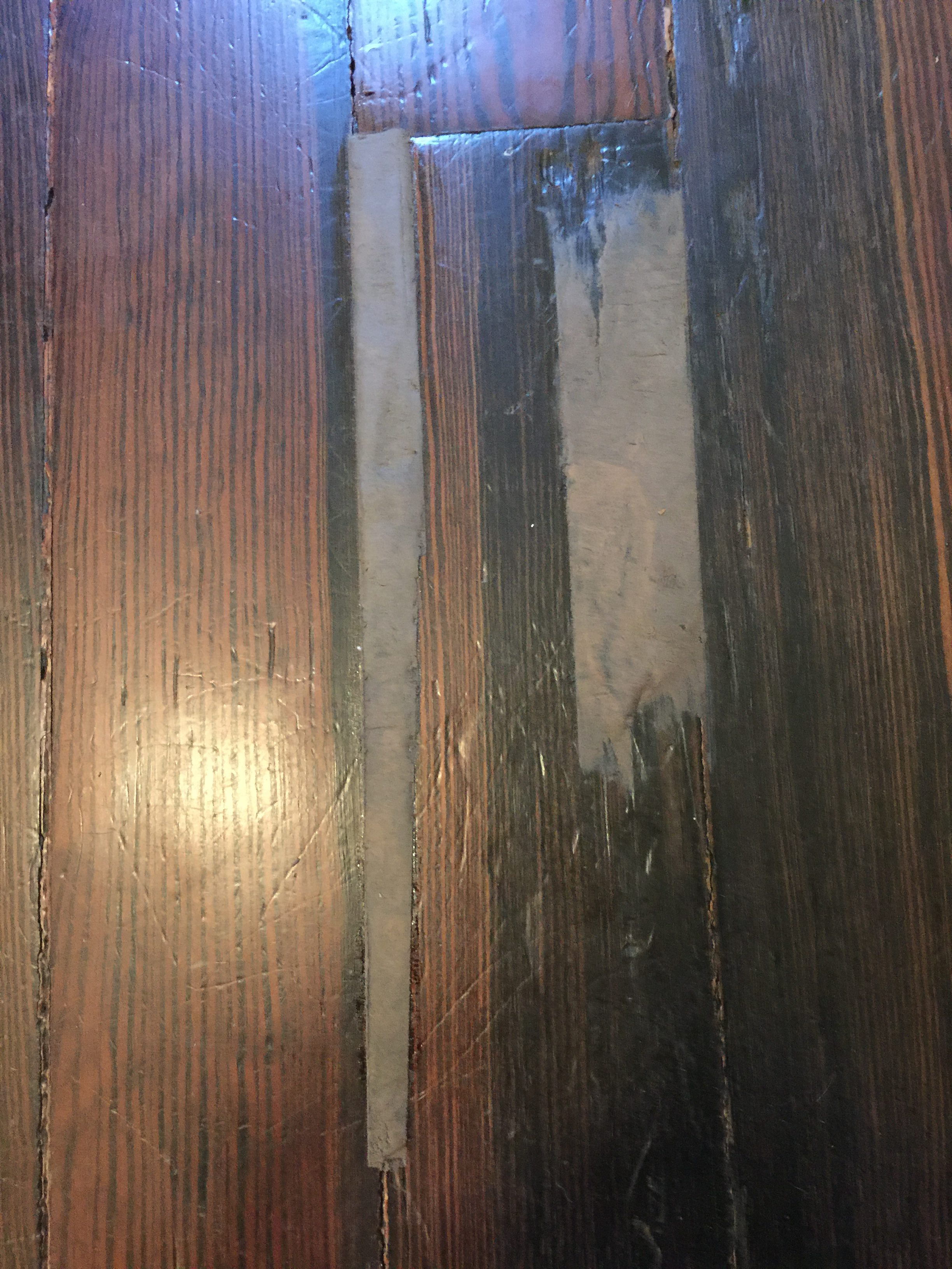 Quick easy wood floor repair the craftsman blog for Wood floor repair