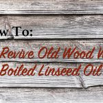how to use linseed oil