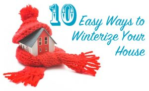 winterize your house