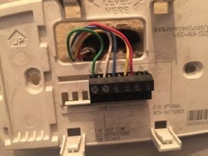 how to change thermostat