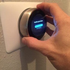 how to install nest display