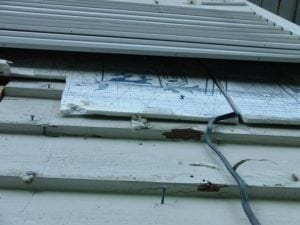insulation on siding