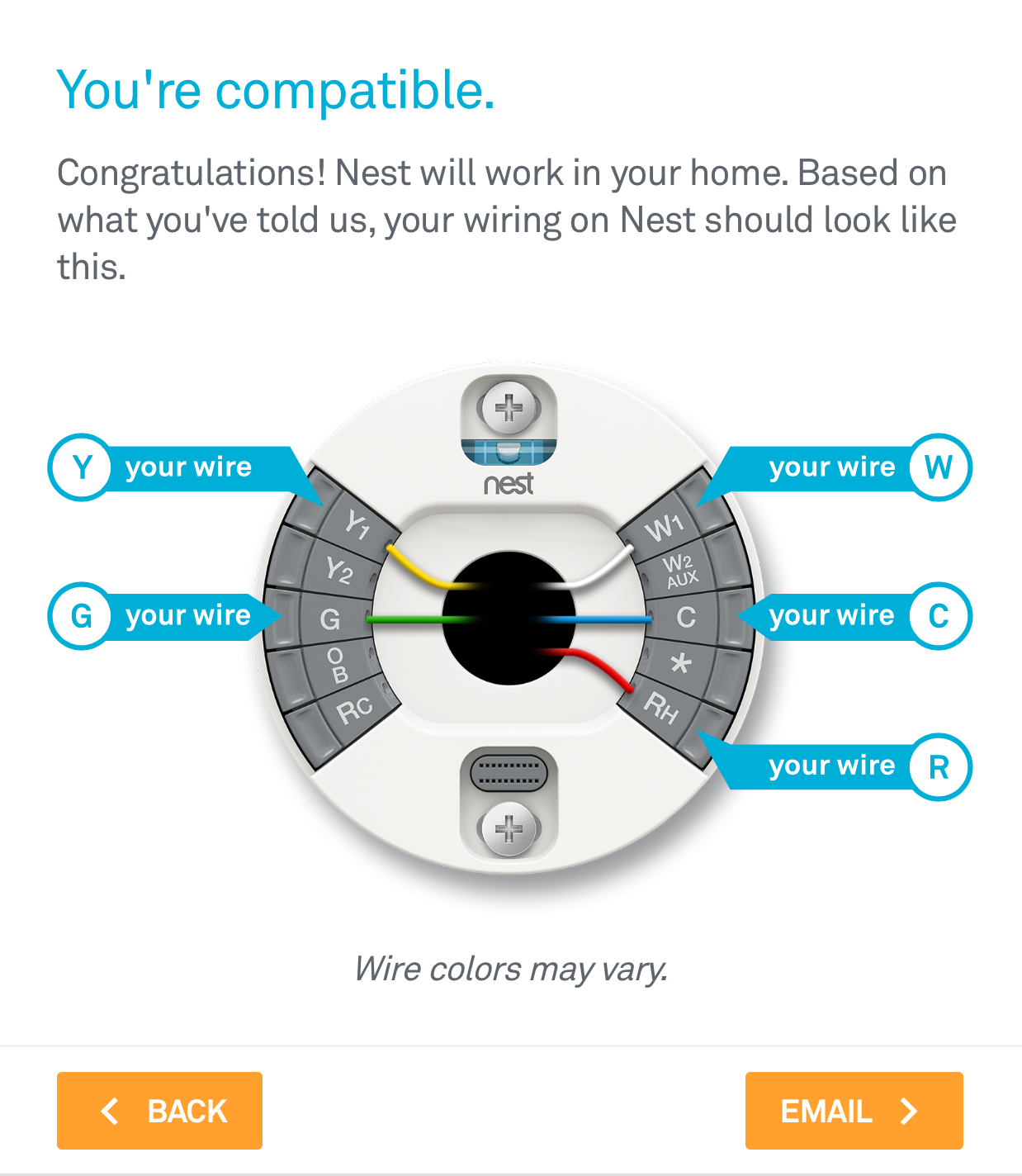 How to install the nest thermostat craftsman