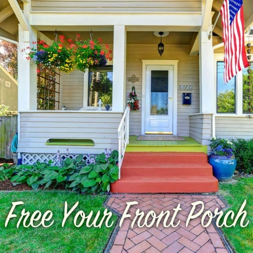 Free Your Front Porch The Craftsman Blog