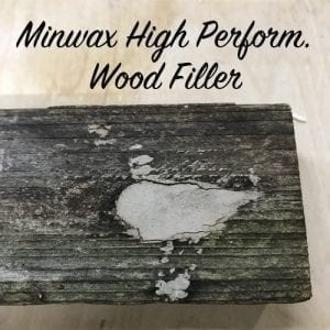 Minwax HP wood filler