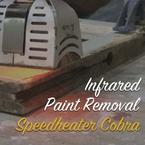 infrared paint removal speedheater cobra