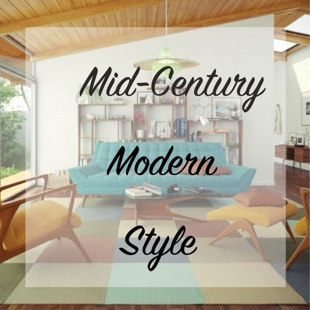 Mid century modern style the craftsman blog - What is mid century modern ...