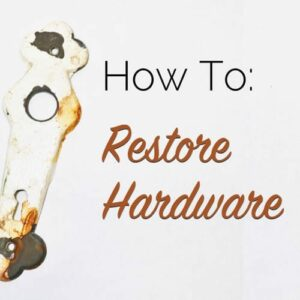 how to restore hardware