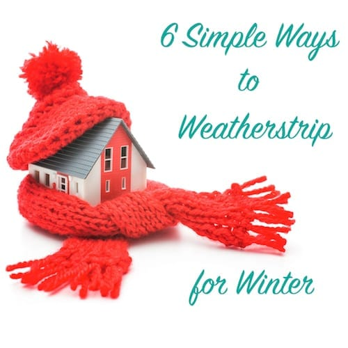 6 simple ways to weatherstrip for winter