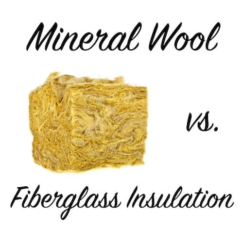 mineral wool vs fiberglass insulation metzger terry