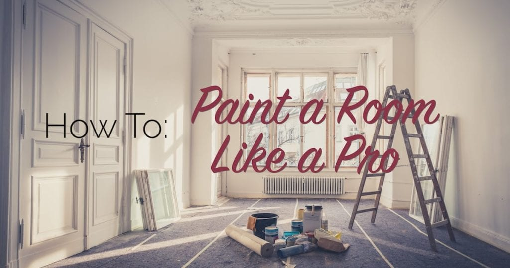 how to paint a room like a pro the craftsman blog. Black Bedroom Furniture Sets. Home Design Ideas