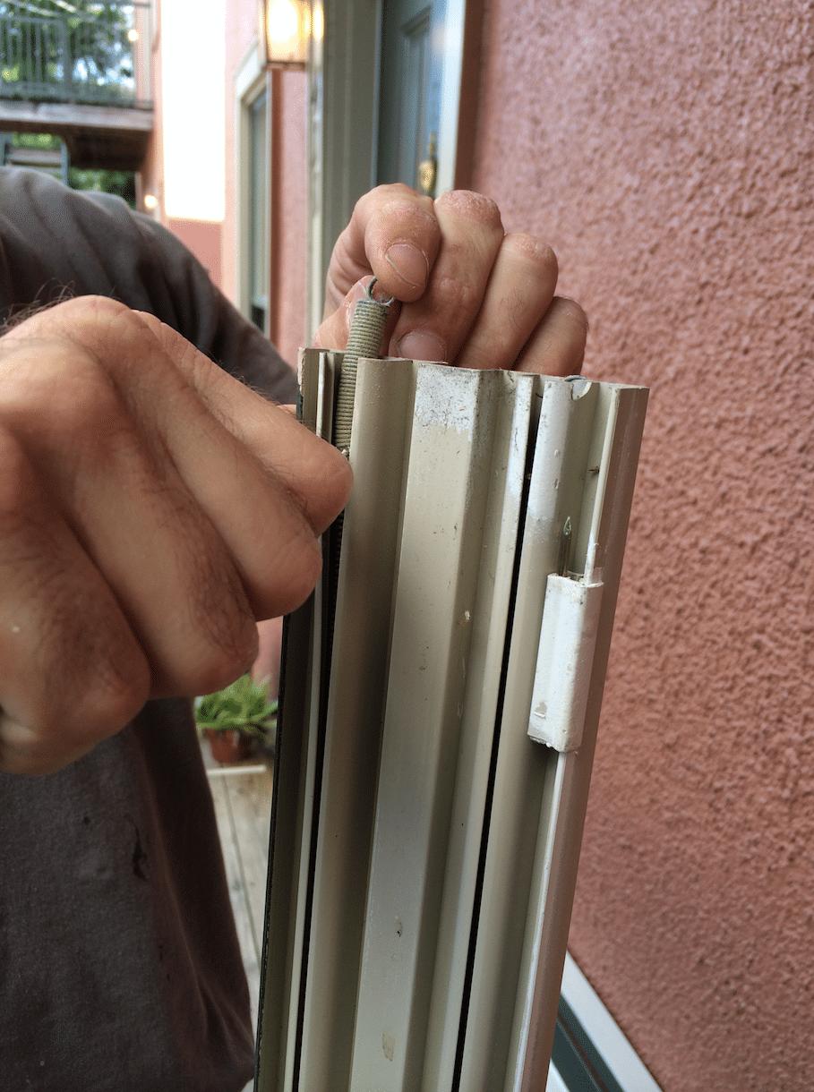 jamb liner springs