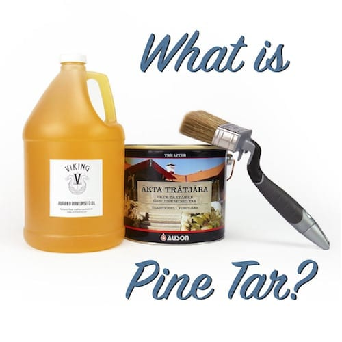 what is pine tar