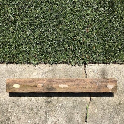 Wood Filler & Epoxy Test (Year 4)
