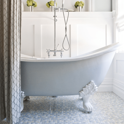 Double slipper tub
