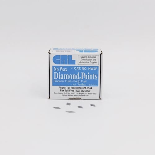 No. 2 Diamond Glazing Points