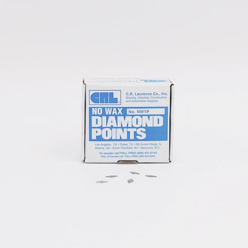 No. 1 Diamond Glazing Points