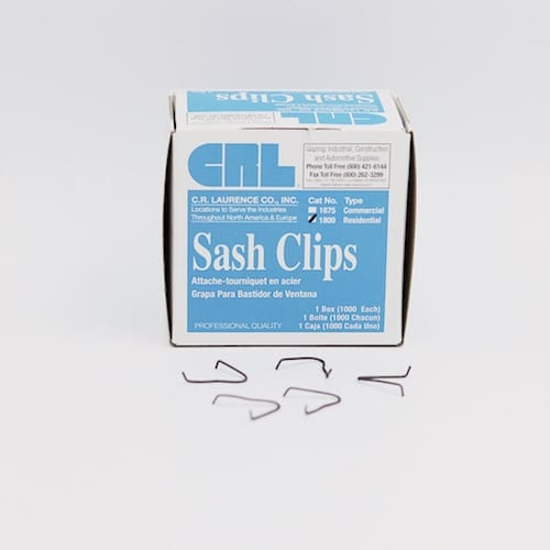 Steel Window Sash Clips