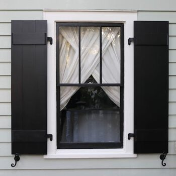 How To: Make Board and Batten Shutters