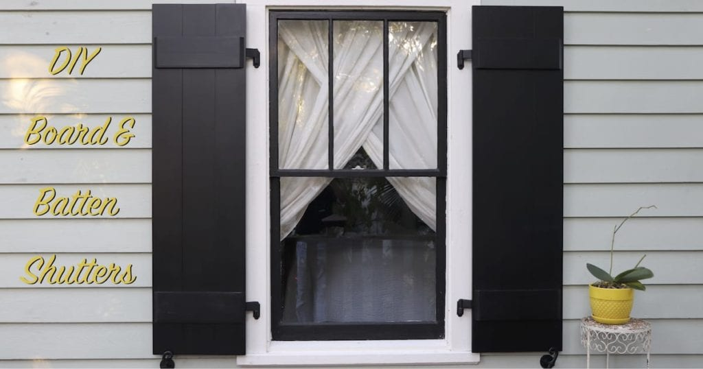 How To Make Board And Batten Shutters The Craftsman Blog