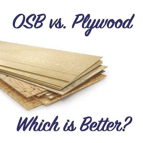 OSB vs  Plywood: Which is Better? | The Craftsman Blog