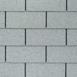 white 3 tab asphalt shingles