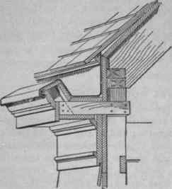 wood gutters