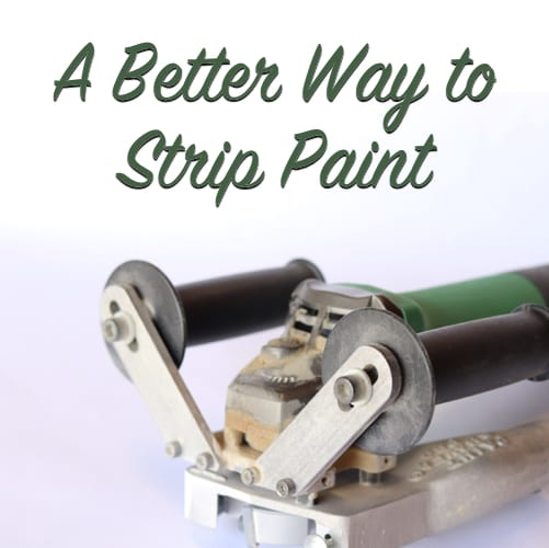 a better way to strip paint
