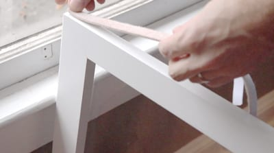 weathersealing interior storm window