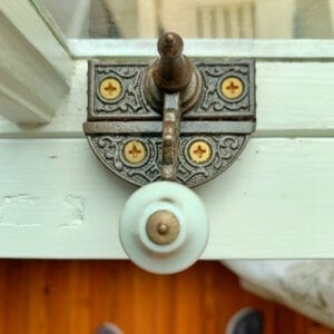 antique sash lock