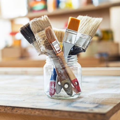 picking the right paint brush
