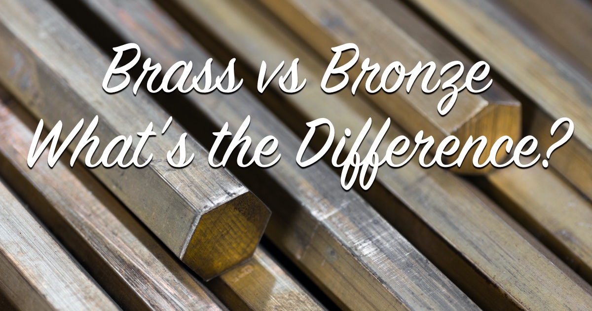 Brass Vs Bronze What S The Difference The Craftsman Blog