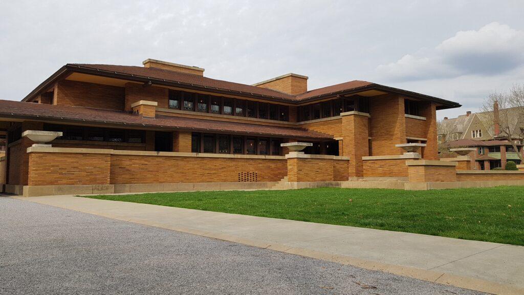 Frank Lloyd Wright's Darwin D. Martin House